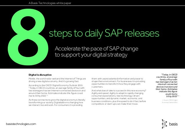 8 steps to daily sap releases
