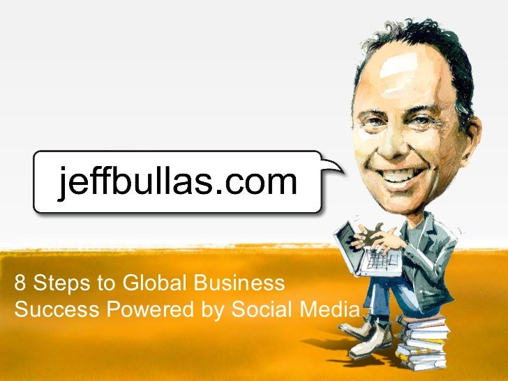 8 Steps to Global BusinessSuccess Powered by Social Media