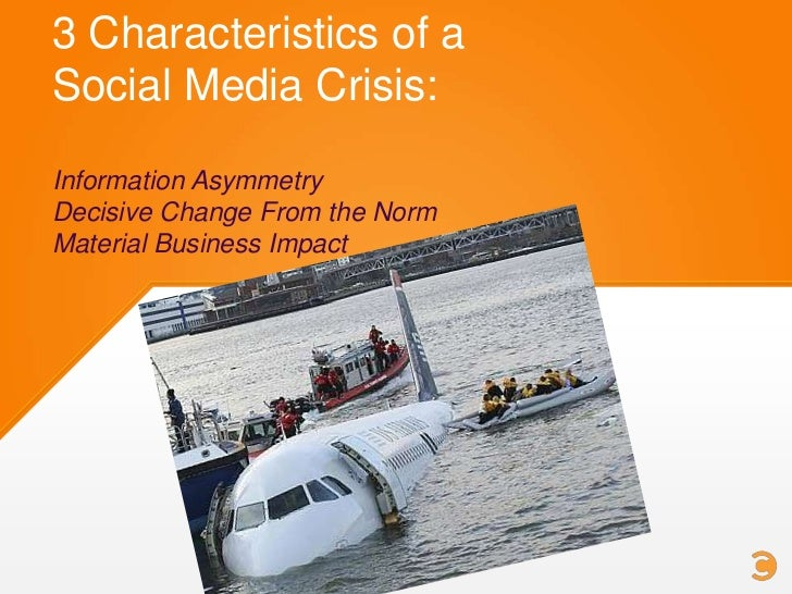 Respond first wherever the crisis brokeThen respond in all other venuesIt's imperative that you have established socialpre...