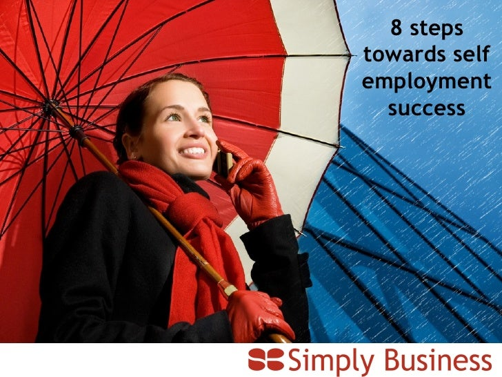 8 steps towards self employment success