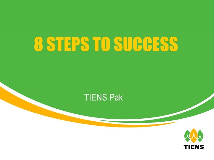 TIENS Pak 8 STEPS TO SUCCESS