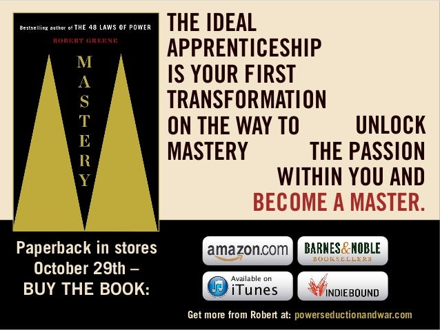 THE IDEAL APPRENTICESHIP IS YOUR FIRST TRANSFORMATION UNLOCK ON THE WAY TO THE PASSION MASTERY WITHIN YOU AND BECOME A MAS...