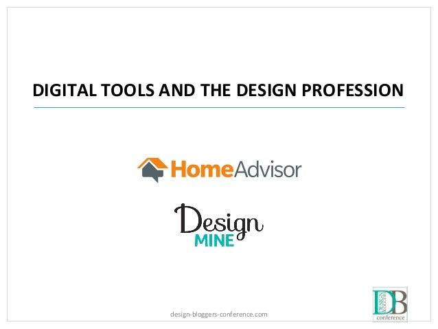 design-bloggers-conference.com DIGITAL TOOLS AND THE DESIGN PROFESSION