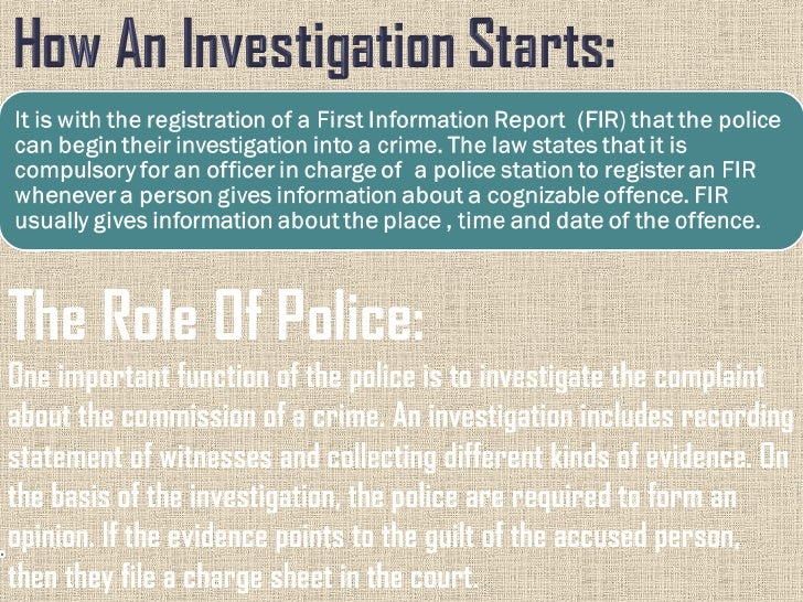 police and human rights ppt