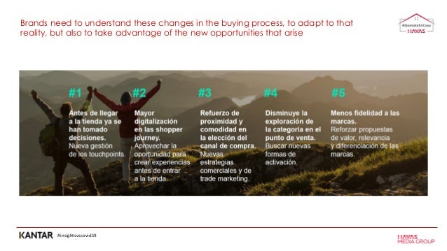 #insightsvscovid19 Brands need to understand these changes in the buying process, to adapt to that reality, but also to ta...