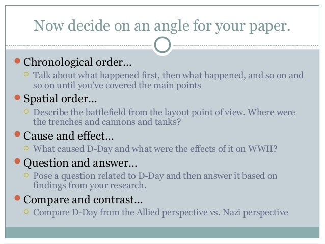 Spatial order essay writing