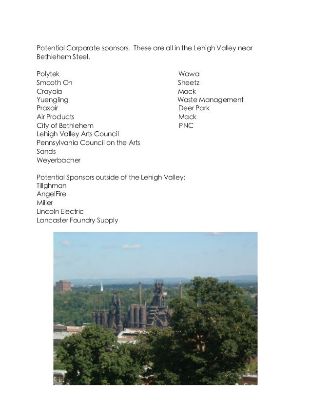8th Icccia Artquest Bethlehem Steel Proposal
