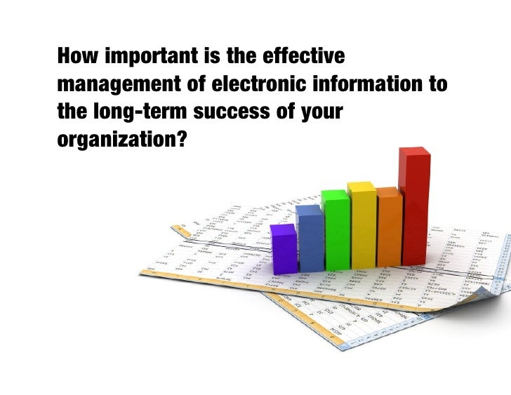 """""""How confident are you that your organization could demonstrate that your electronic information is accurate, accessible, a..."""
