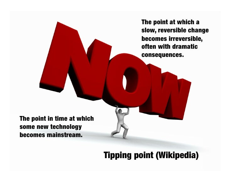 My thesis – part 1: We are approaching an information management tipping point.