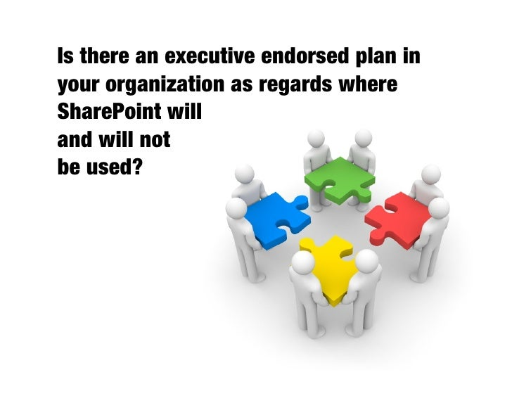 Have you thought through the  governance implications of      your collaboration        deployments?