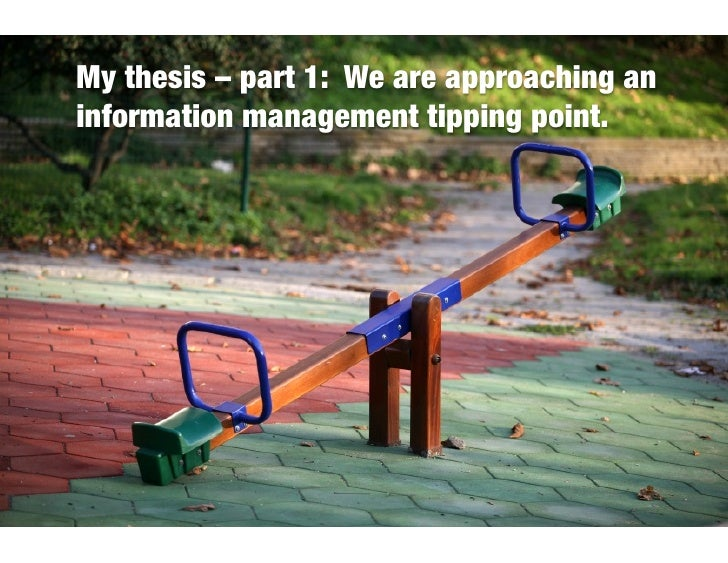 8 reasons you need a strategy for managing information...before it's too late