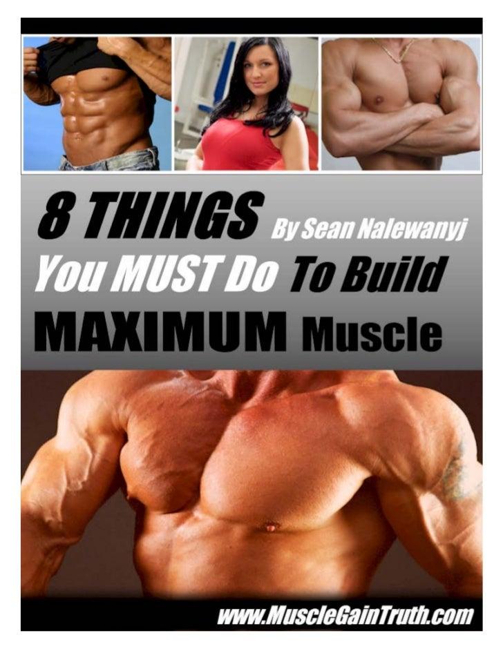 By Sean Nalewanyjwww.MuscleGainTruth.com