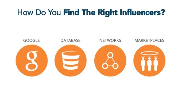 How Do You Find The Right Influencers?