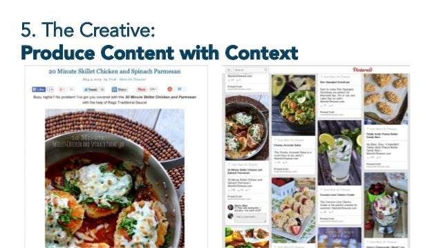 5. The Creative: Produce Content with Context