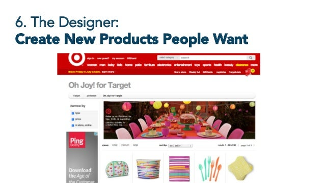 6. The Designer: Create New Products People Want