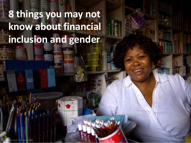 8 things you may not know about financial inclusion and gender