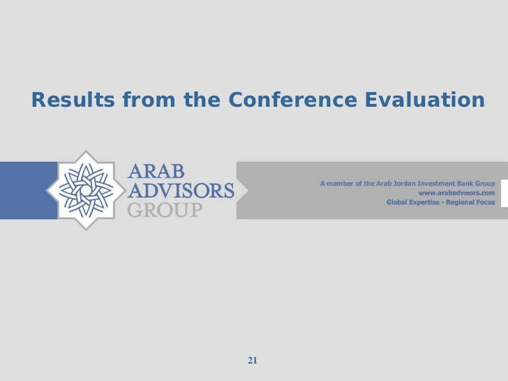 Results from the Conference Evaluation                  21