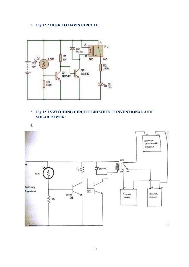 solar street lighting system rh slideshare net 5V Solar Charger Circuit Diagram Solar Panel Connection Diagram