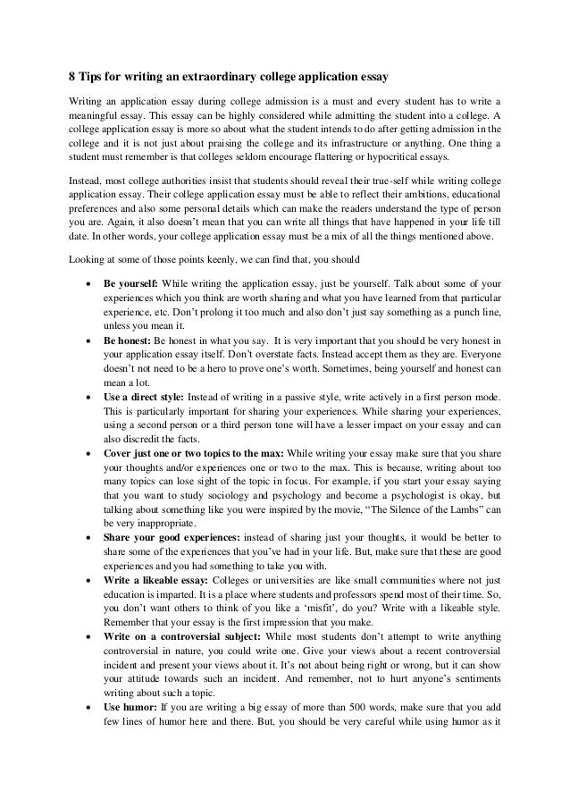 How To Write An Essay For Entrance Into College 40