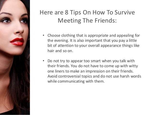 Dating and meeting friends