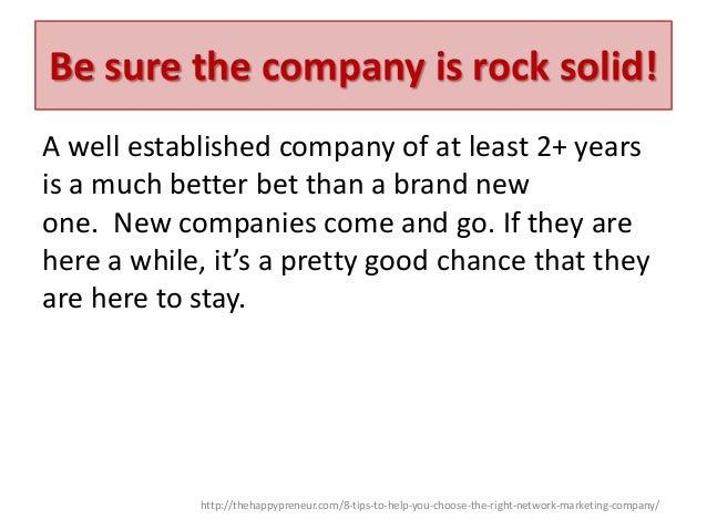 how to choose a marketing company