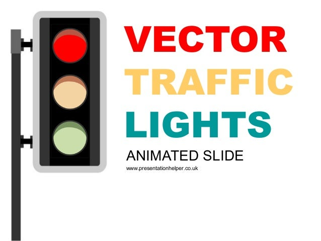 power point templates 8 traffic light