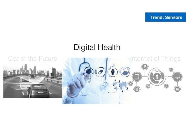 Car of the Future Digital Health Internet of Things Trend: Sensors