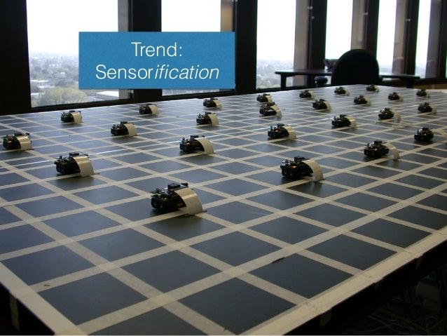 Trend: Sensorification