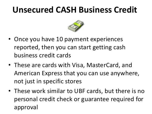 8 Types Of Unsecured Business Loans And Cards That Every Business Sho