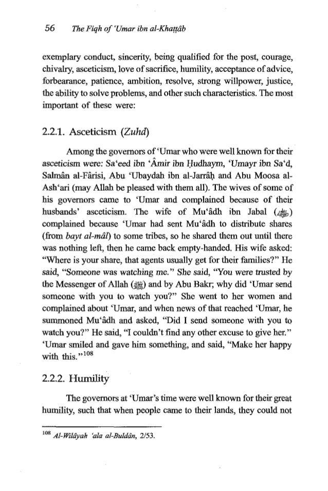 'Umaribn al-Khafftib 57 1 I distinguish between them and the common folk. In their clothing, housing and mounts they were ...