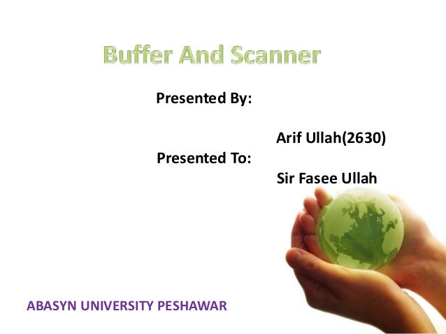 Presented By: Arif Ullah(2630) Presented To: Sir Fasee Ullah ABASYN UNIVERSITY PESHAWAR