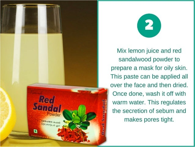 Skin Care Tip: 8 Uses of Red Sandalwood for Acne free and Youthful Skin Slide 3