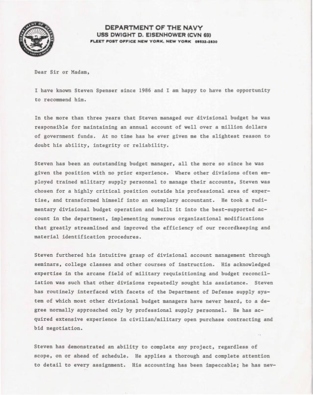 u s  navy letter of recommendation  1