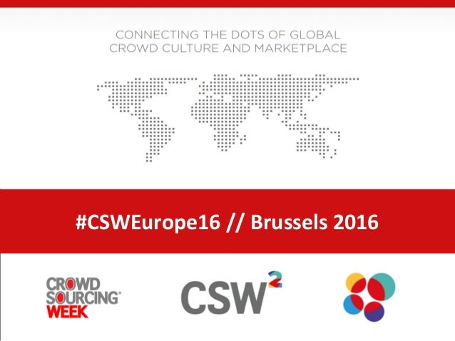 #CSWEurope16 // Brussels 2016