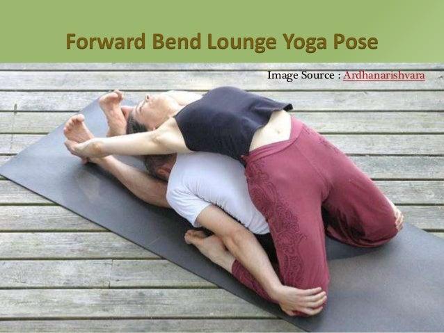 Forward Bend Lounge Yoga Pose Image Source Ardhanarishvara 13
