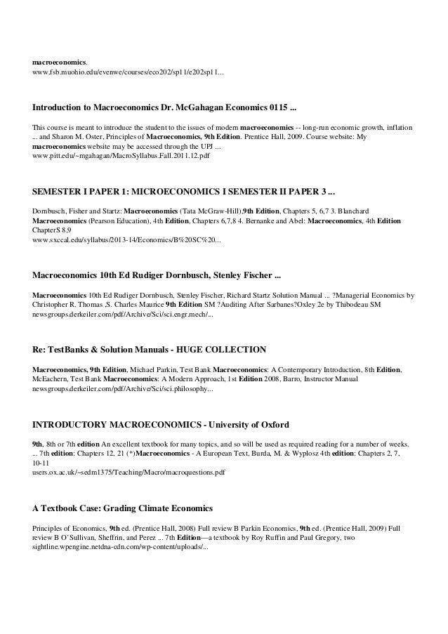 Economics Parkin 7th Edition Pdf