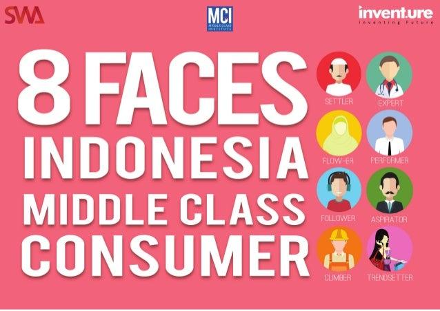 1 | 8 Faces Indonesia Middle Class Consumerwww.inventure.id Untuk menyusun segmentasi generik (generic segmentation) kelas...