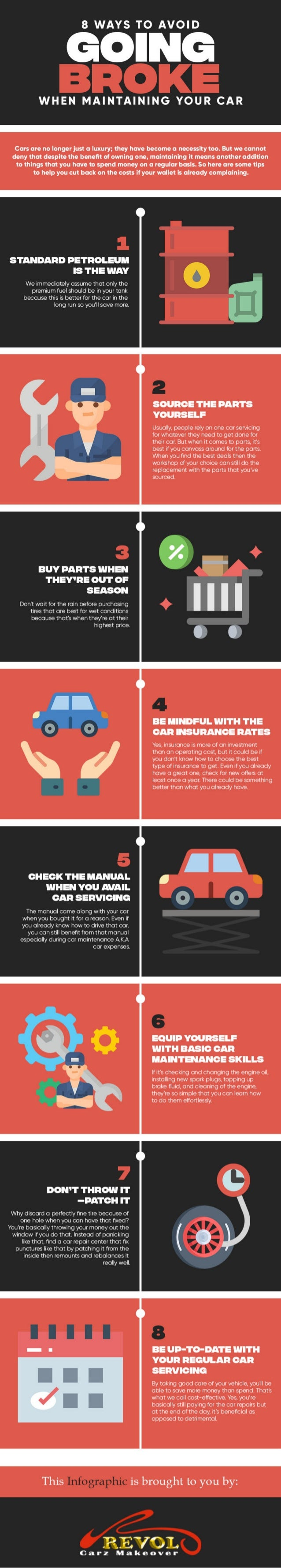 8 Ways To Avoid Going Broke When Maintaining Your Car