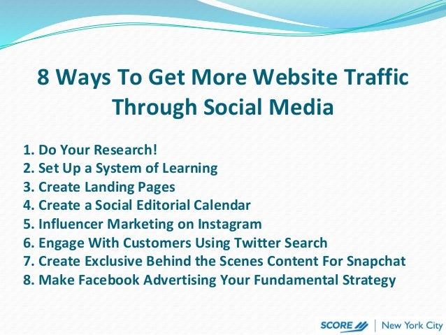 how to get traffic to your website 2017