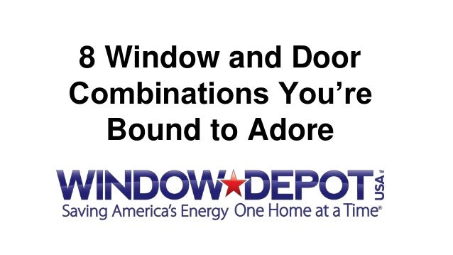 8 Window and Door Combinations You're Bound to Adore