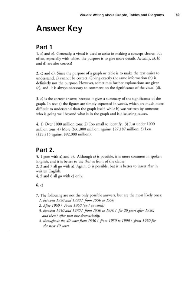 8 writing about graphs tabl es and diagrams gabi duigutask 1 – Understanding Graphing Worksheet