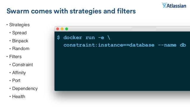 Higher order infrastructure from docker basics to cluster for Consul ui docker