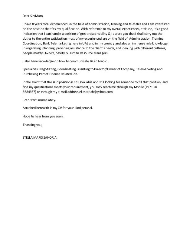 Zoo Worker Cover Letter Resume Objective Examples For Agriculture ...