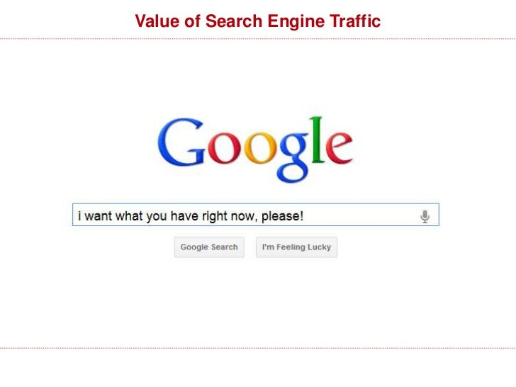 Value of Search Engine Traffic