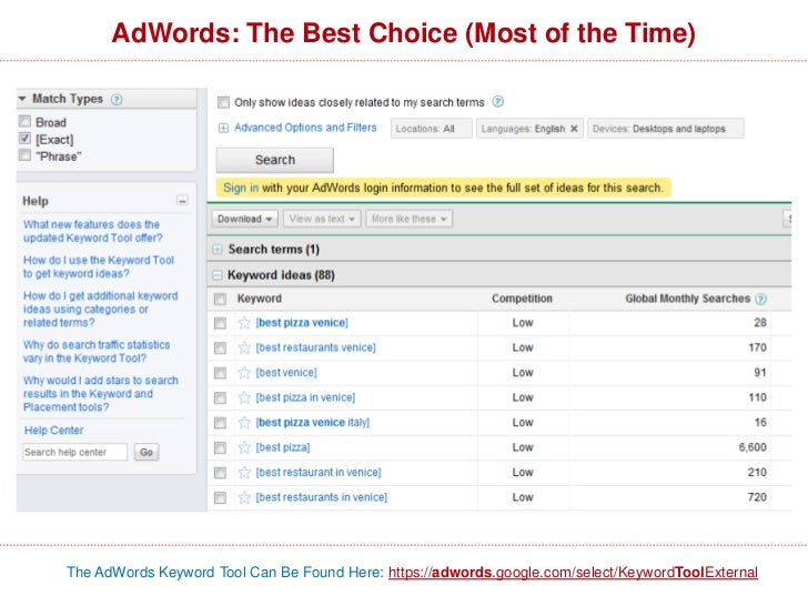 Analyzing the Top 10 to Determine DifficultyStrong, popularsites w/ targeted titles + content