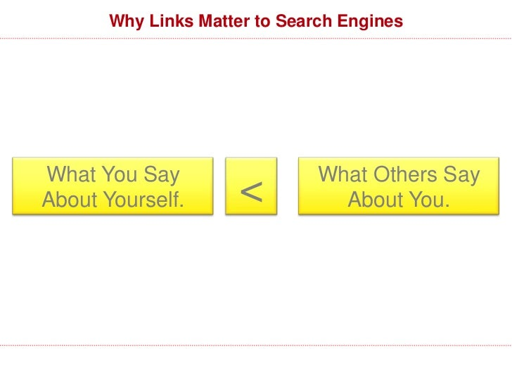 What Matters in a Link?                           Editorially given                          From a trusted source        ...