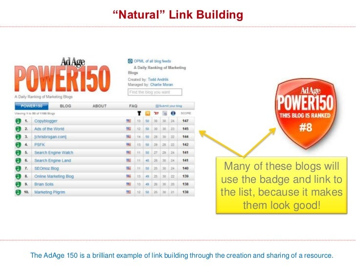 Link Building & Social Sharing ResourcesThere are literally infinite numbers of ways to build links – creativity is your o...