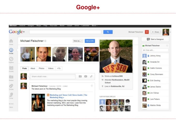 Google+                                                                  Anyone logged-in                                 ...