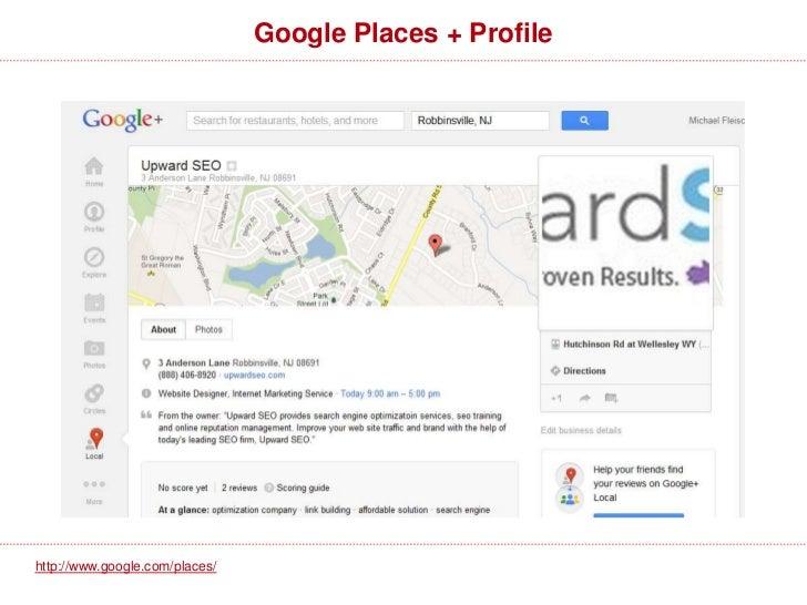 Google Places Dashboardhttp://www.google.com/places/