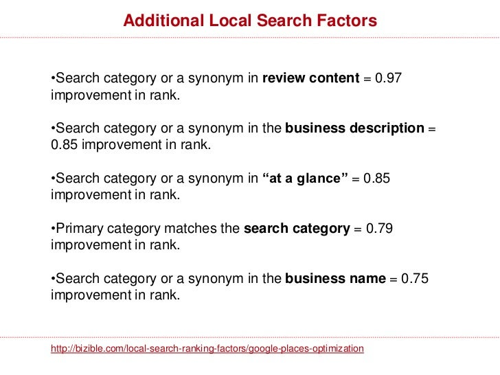 Local + National SEO Tips•Begin with keyword research•Start with a Google Places page. Explore Google + Local forgiving re...